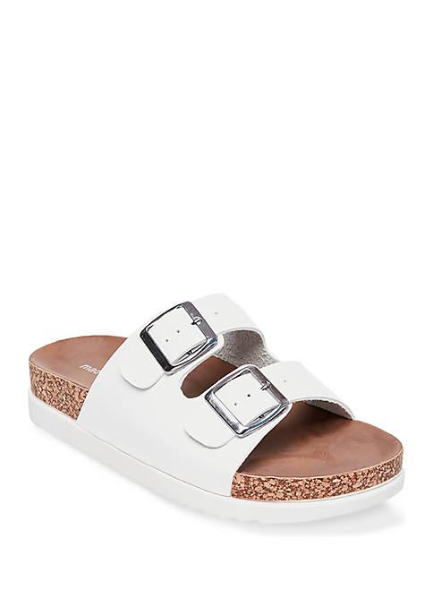Madden Girl Goldie Platform Footbed Sandals