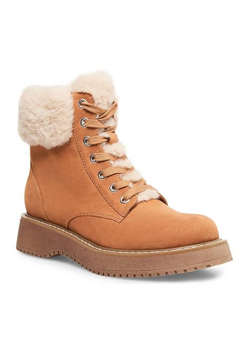 Kimber Fur Hiker Boots