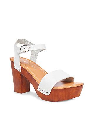 58c4d7fc1 Madden Girl. Madden Girl Lift Wood Block Heel Ankle Strap Sandals