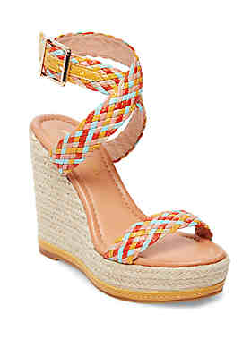 reputable site b6563 d5d1f Madden Girl Narla Espadrille Wedge Sandals ...