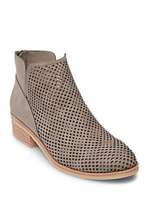 Tally Perforated Booties