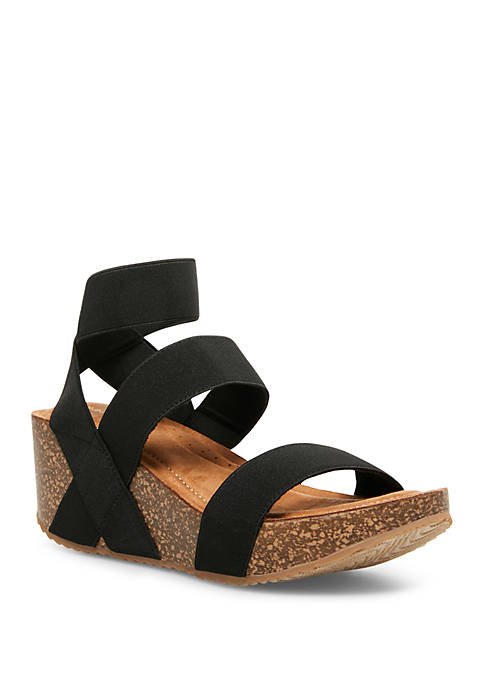 Madden Girl Zoeyy Sling Wedge Sandals