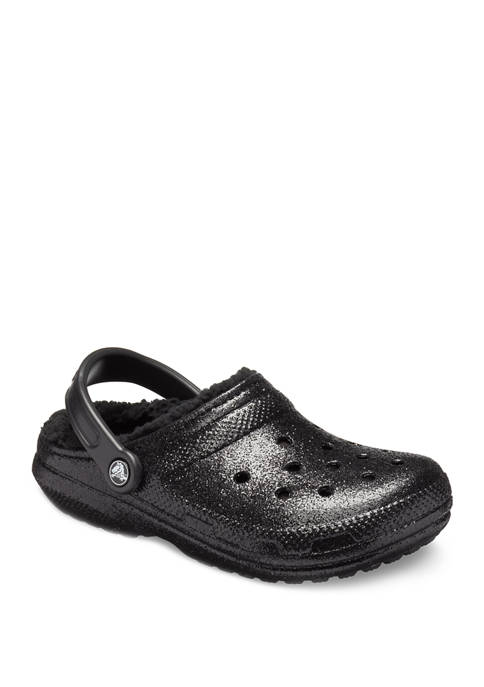 Classic Glitter Lined Clogs