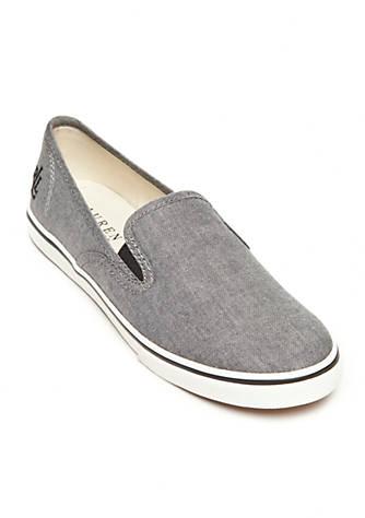Lauren Ralph Lauren Janis Double Gore Slip-On Shoe