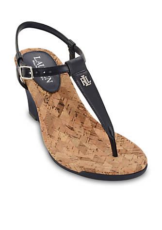 Ralph Lauren Naris Wedge Sandal