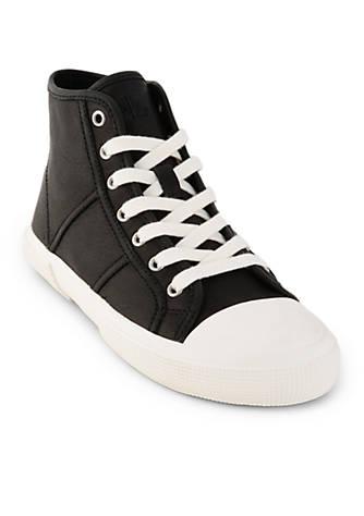 Lauren Ralph Lauren January High Top Sneakers Black XeaEw0SoH