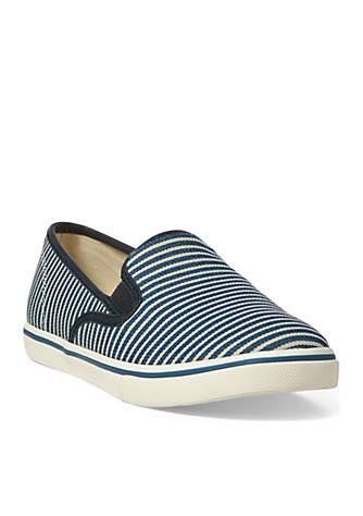 Lauren Ralph Lauren Janis Double Gore Sneaker aX1Gk21E
