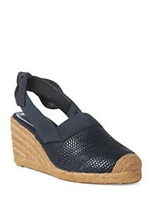 Lauren Ralph Lauren Helma Espadrille Wedge Sandals