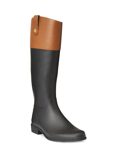 Lauren Ralph Lauren Barnes 2 Tone Rain Boots