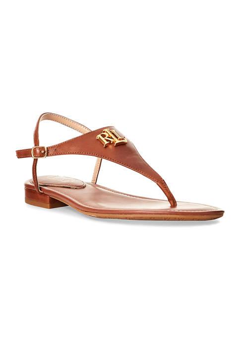 Ellington Logo Sandals