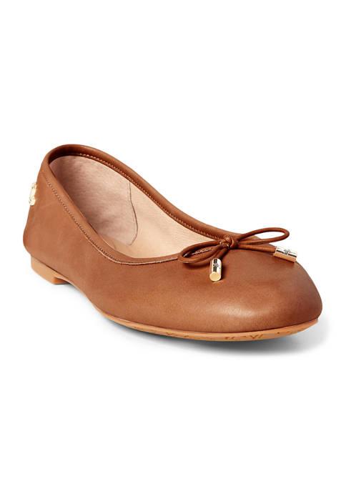 Lauren Ralph Lauren Jayna Ballet Flats