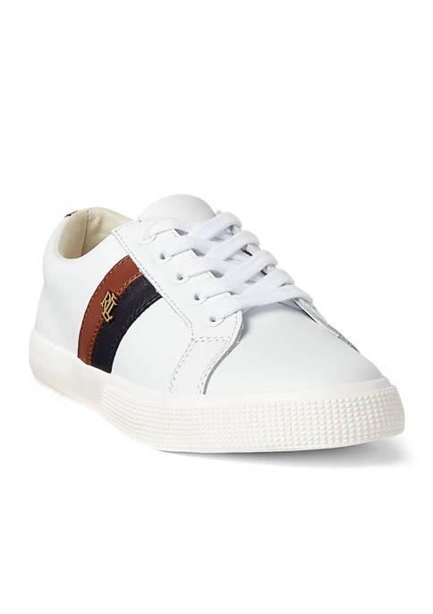 Lauren Ralph Lauren Janson II Action Leather Sneakers