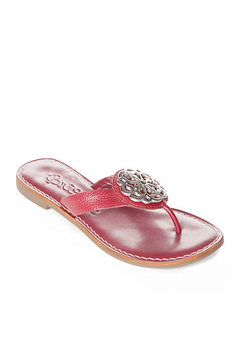Brighton® Alice Medallion Flat Sandals