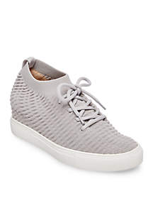 Carin Knit Wedge Sneakers