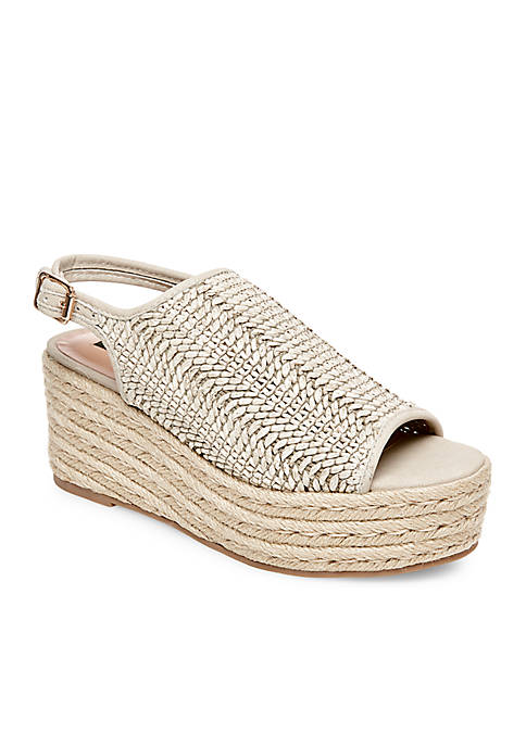 Courage Woven Flat Espadrille