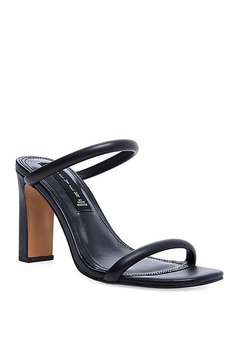 Jersey Heeled Dress Sandals