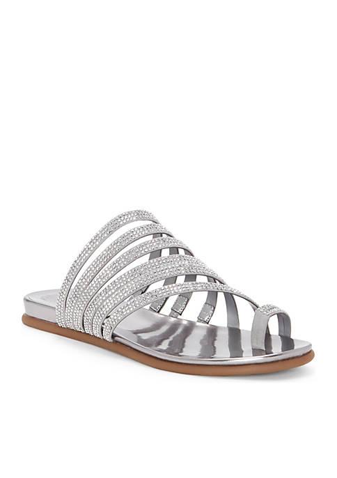 dfc833936bb2b Vince Camuto Edwinny Jewel Toe Thong Flat Sandals
