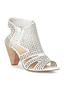 Esten Cone Heeled Sandals