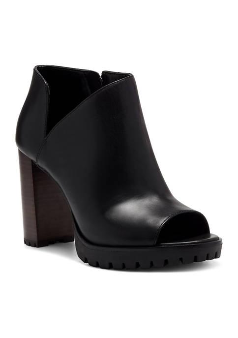 Hevana High Heel Peep Toe Booties