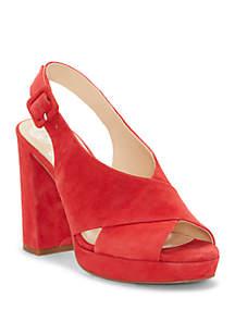 Vince Camuto Javasan Platform Heeled Sandal