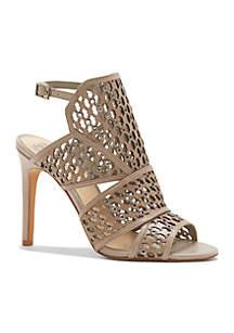 Korthina Studded Slinkback Dress Heels