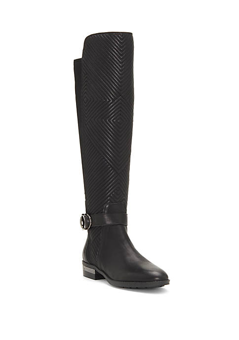 Quilted Shaft Tall Boots