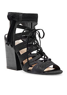 Vince Camuto Ranata Ghillie Front Stacked Heels