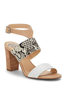 Vince Camuto Warma Block Heel Sandals