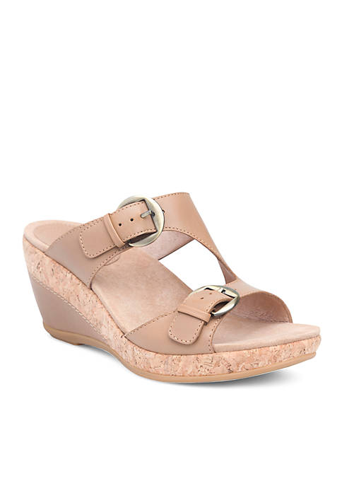 Dansko Carla Full Grain Leather Sandals
