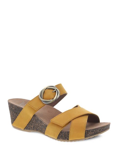 Susie Wedge Sandals