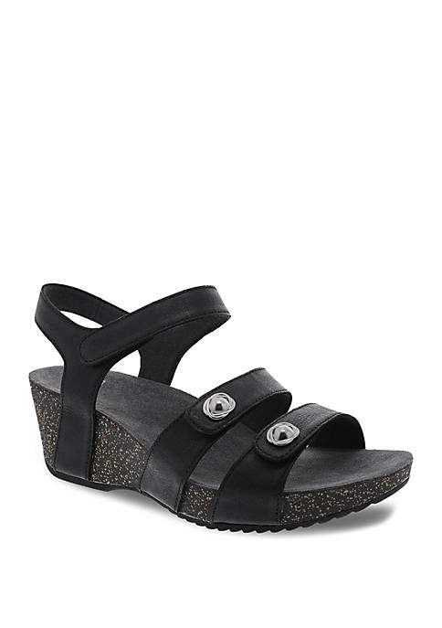 Dansko Savannah Black Sandals