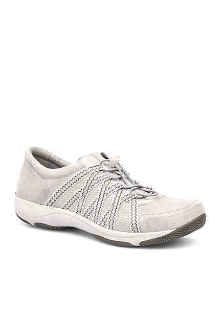 Dansko Honor Black Suede Sneaker ...