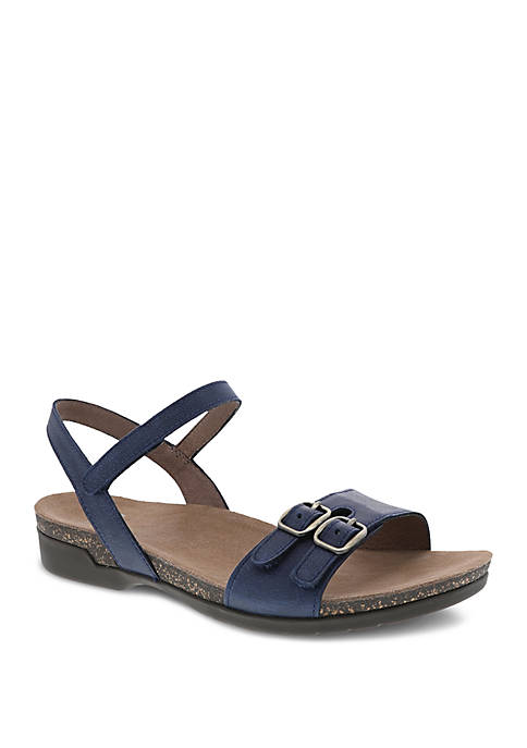 Rebekah Navy Sandals