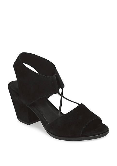 Eileen Fisher Doe Heeled Sandals