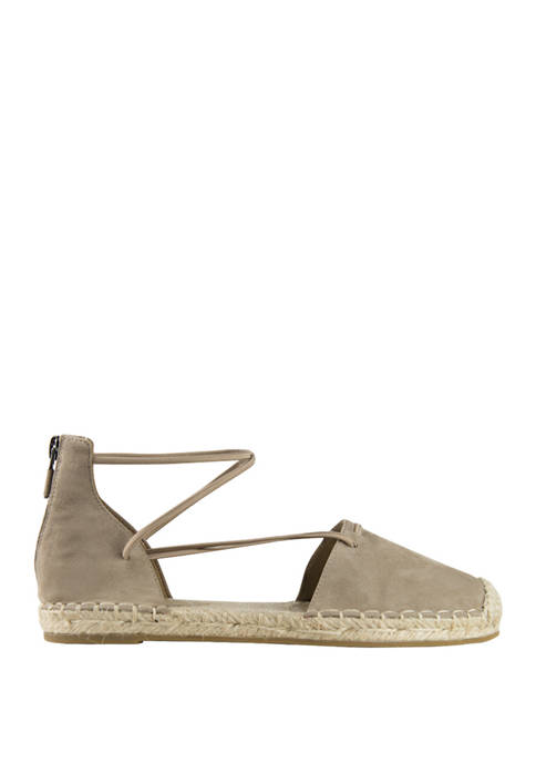 Eileen Fisher Lace Stretch Espadrilles