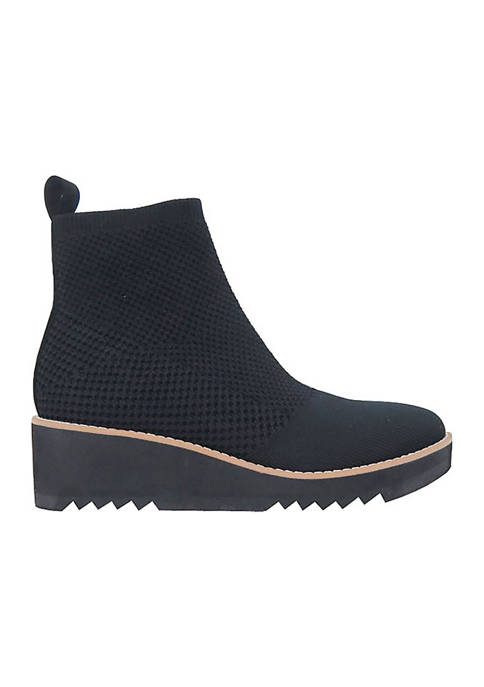 London Knit Wedge Booties