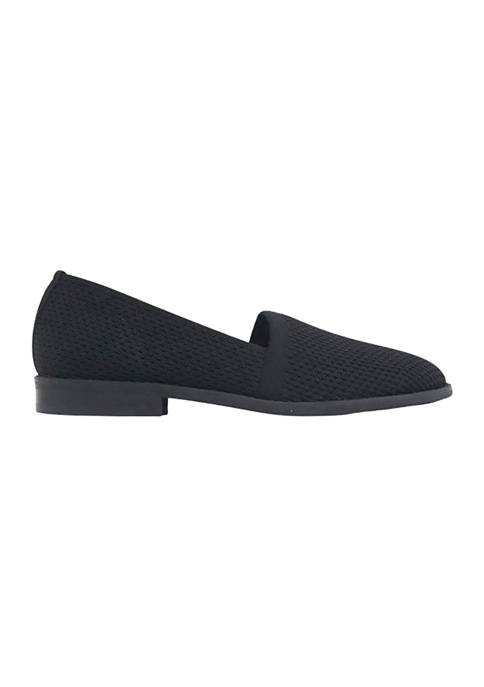 Eileen Fisher Fly Knit Slip On Flats