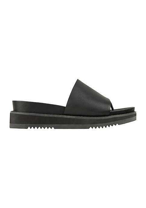 Eileen Fisher Touch Slide Sport Bottom Sandals