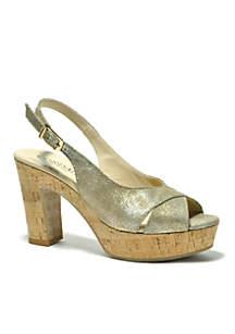 Tompkins Heal Sling Shoes