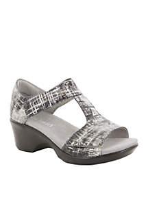 Riki T-Strap Wedge Sandal