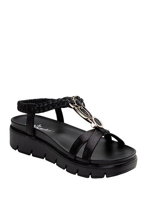 Roz Wedge Sandals