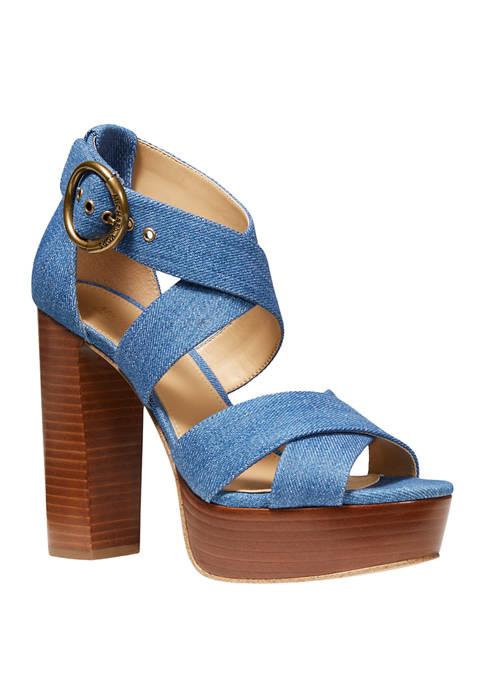 MICHAEL Michael Kors Leia Platform Sandals