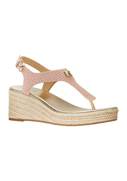 Laney Thong Wedge Sandals