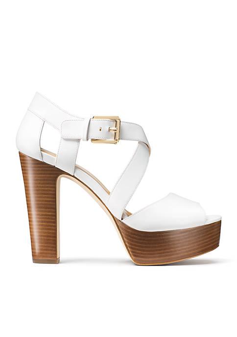 d792ad9b1e7b MICHAEL Michael Kors Jodie Platform Sandal. Jodie Platform Sandal