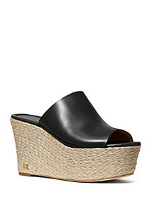63b573e6dc36 ... MICHAEL Michael Kors Cunningham Wedge Sandals