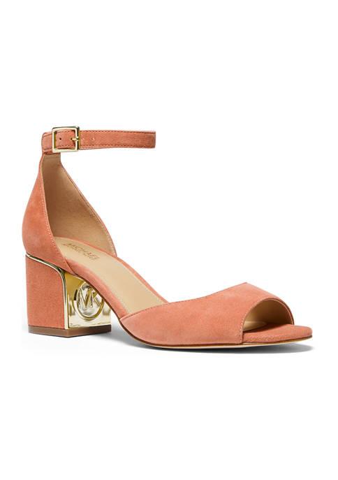 MICHAEL Michael Kors Lana Mid Heel Sandals