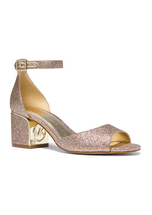 Lana Mid Heel Sandals