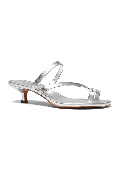 MICHAEL Michael Kors Letty Mid Heel Sandals