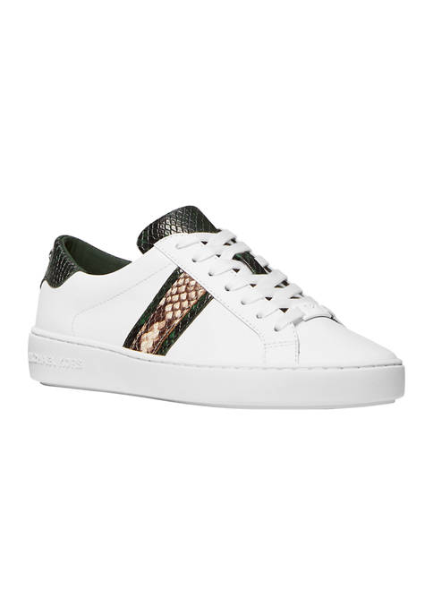 MICHAEL Michael Kors Irving Stripe Lace Up Sneakers