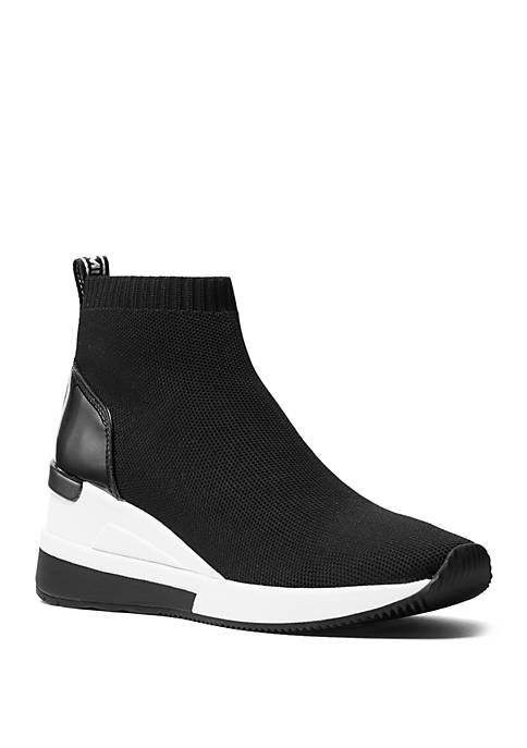 MICHAEL Michael Kors Skyler Knit High Top Sneaker